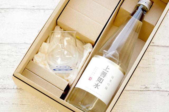 日本酒とお猪口のギフトセット