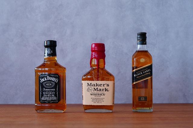 ミニチュアボトルウイスキー