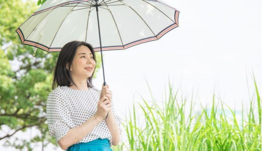 日傘・晴雨兼用傘のお手入れ方法とおすすめの名入れ日傘