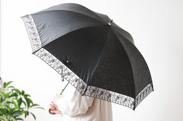 名入れレディース晴雨兼用傘