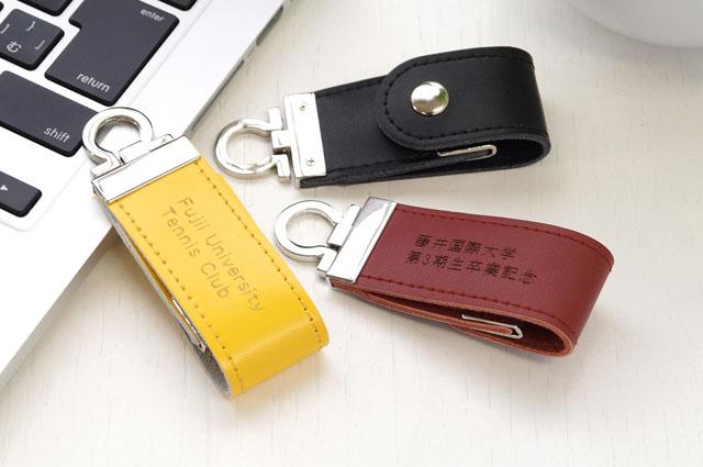 ベルトレザーUSBメモリ 8GB