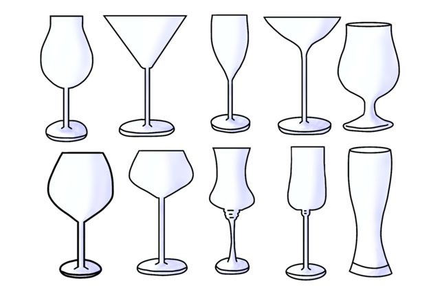 グラスの種類