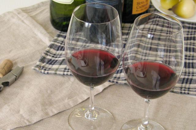 名入れ 赤ワイングラスペアセット<350cc> RIEDEL