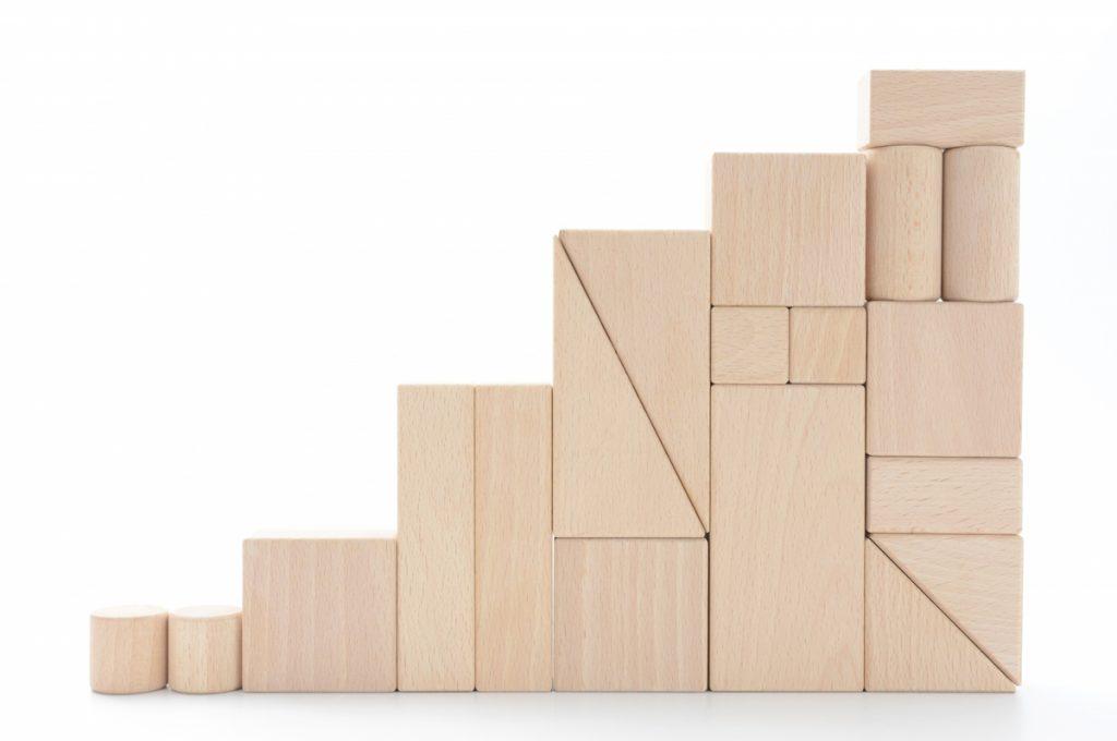 積み木の選び方:大きさで選ぶ