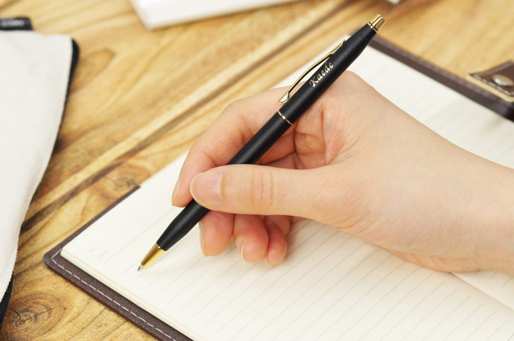 ペンを正しく持つ
