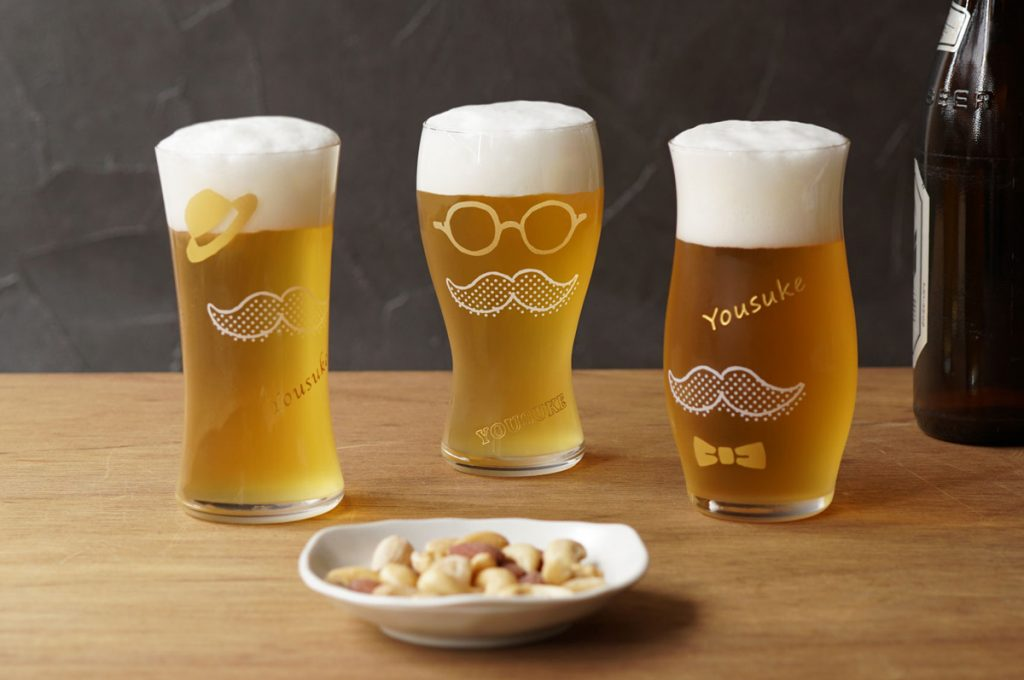 泡づくりジェントルビールグラス